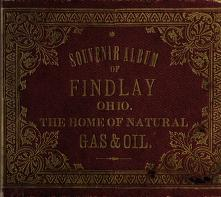 Souvenir album of Findlay, Ohio by