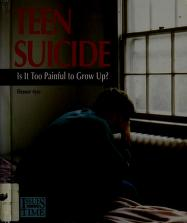 Cover of: Teen Suicide:Is It Too Painful (Issues of Our Times)  